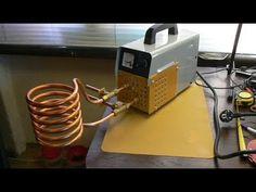 Переделка сварочного инвертора в индукционную печь. Подробный обзор - YouTube