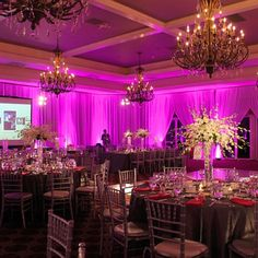 Uplighting ideas posted by others, showing what an impact it can make to your event!