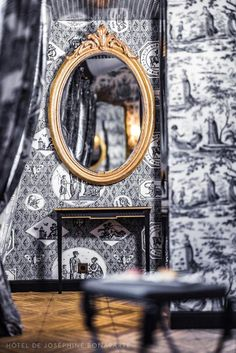 Outrageous yet somehow not over-the-top, this bijou hotel takes its design inspiration from the lavish tastes of Empress Joséphine Bonaparte. From the floral wallpaper in the rooms to the leopard print carpet and hot pink curtains in the cocktail bar, Hôtel de JoBo is a riotously fun spot for a romantic weekend.