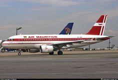 Air Mauritius / Airbus A319-112 / Johannesburg-Tambo Int'l