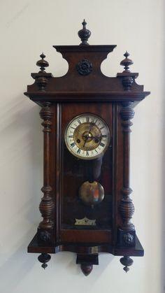Antique Wall Clocks, Old Clocks, Baroque Furniture, Wood Furniture, Clock Repair, Retro Clock, Modern Clock, Moldings And Trim, Grandfather Clock