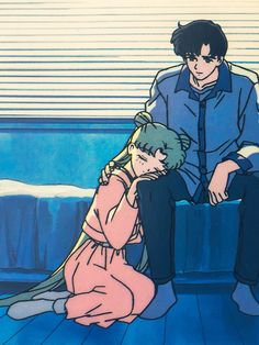 Their relationship in a picture. This is why we love Seiya: he would've been the one kneeling to her.
