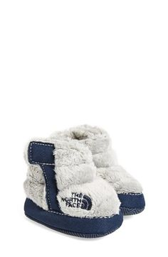 The North Face 'Never Stop Exploring' Crib Shoe (Baby) available at #Nordstrom