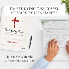 We are so excited we'll be studyingThe Gospel of Markby Lisa Harper online this spring!We thought studying the life of Jesus through the eyes of Mark would be the perfect way to lead up to Easter. The study will begin on March2 and go until April13. We'll post a video here every Thursday during that …