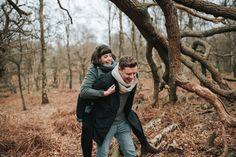 Sherwood Forest Engagement session, Nottinghamshire - Pear & Bear Photography
