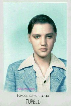 Elvis attended The East Tupelo Consolidated grammar school.                                                                                                                                                      More