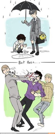 Sherlock feels / iFunny :)