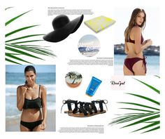 """Rosegal 36 : Beach days"" by jasmina-fazlic ❤ liked on Polyvore featuring Urban Decay, Shiseido, Billabong and Kenzo"