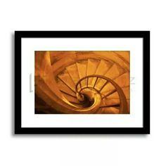 Coral Stairs by Simone Leandro  Available at www.museartz.com  #art #artdubai #decor #wallart #mydubai #canvas #interiors #design #dubaidesign #artonline #artprints