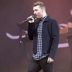 Sam Smith at T IN THE PARK