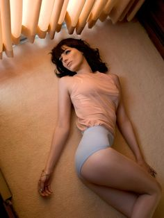 """""""Mad Men"""" Star Jessica Pare Smolders in GQ UK Shoot by Stevie and Mada"""