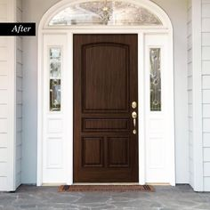 Honey Oak Wood Look Kit for Front Doors Giani Honey Oak Wood Look Kit for Front Doors – Giani Inc.Giani Honey Oak Wood Look Kit for Front Doors – Giani Inc. Brown Front Doors, Wood Front Doors, Painted Front Doors, Wooden Doors, Entry Doors, Oak Doors, Entry Hall, Entryway, Replacing Interior Doors