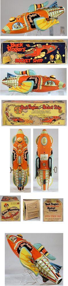 1934 Marx, Buck Rogers 25th Century Rocket Ship in Original Box #3