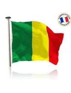 Drapeau Mali Made In France by Manufêtes