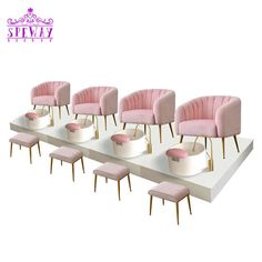 Speway hot sale baby pink no plumbing pedicure chair with pedicure sinks Source by Home Nail Salon, Nail Salon Design, Nail Salon Decor, Beauty Salon Decor, Beauty Salon Interior, Interior Design Pictures, Interior Design Books, Interior Design Software, Fond Design
