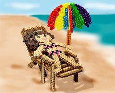 Beach Time perler beads pattern - Perler®