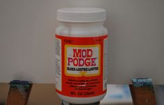 """If you ever want to add wrapping paper to a canvas """"Mod Podge"""" is the thing to use. #modpodge"""