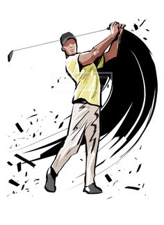 SPAI131b, SPAI131, 스포츠, 에프지아이, 운동, 사람, 캐릭터, 액션, 모션, 남자, 1인, 스케치, 골프, 일러스트, illust, illustration #유토이미지 #프리진 #utoimage #freegine 19587197