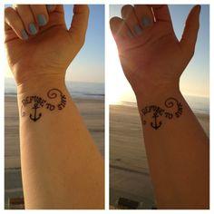 This my tattoo, on my honest to god wrist!