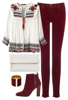 """""""Untitled #229"""" by kimberley-hampton ❤ liked on Polyvore featuring AG Adriano Goldschmied, Dune, Whistles and Dsquared2"""