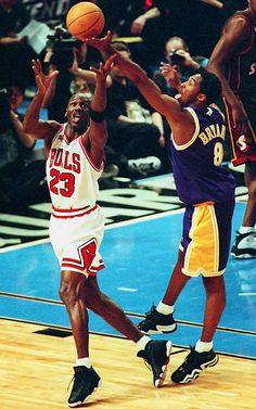 All-Star Game - Michael Jordan vs Kobe