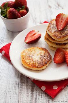Dietetyczne placki kokosowo-twarogowe. Skinny coconut cheese pancakes (gluten free)