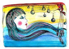 lacaritosuarez:  Acuarela y tinta