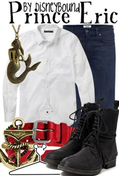 LOVE. Prince Eric Disneybound. Probably my favorite of all the male disneybound.