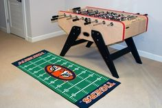 Auburn Tigers Football Field Runner Area Rug/Carpet