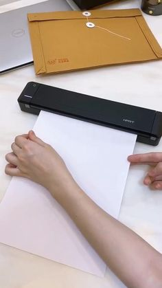 Small Bluetooth Portable Mobile Printer For Paper,