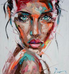 Faces vii vassilis antonakos art pop art women, stage design, woman face, s Tableau Pop Art, Face Art, Art Faces, Paintings Of Faces, Portrait Paintings, Acrylic Portrait Painting, Pop Art Portraits, Pop Art Paintings, Self Portrait Art