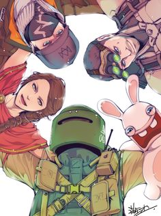 Team Ubi Must stand! Rainbow Six Siege Anime, Rainbow 6 Seige, Rainbow Six Siege Memes, Tom Clancy's Rainbow Six, Rainbow Art, Funny Gaming Memes, Funny Games, Cool Wallpapers Rainbow, Watch Dogs 1