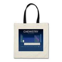 Periodic Table of the Elements Tote Bag by Janz