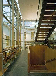 Vaasa City Library, Vaasa, Finland - Lahdelma & Mahlamäki Architects Tour Around The World, Around The Worlds, Multipurpose Hall, City Library, Public Service, Helsinki, Finland, Architects, Stairs