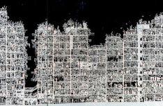 まさに『大図解九龍城』のイラストだ! Kowloon Walled City, Section Drawing, Slums, Anarchy, Alter, Building Design, Cyberpunk, Hong Kong, City Photo