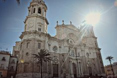 Walked by this everyday in Cadiz Cadiz Spain, Travelogue, Plaza, Us Travel, Barcelona Cathedral, Places Ive Been, Places To Visit, To Go, Spaces