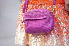 Who knew purple quilting and orange sequins could play together so well?
