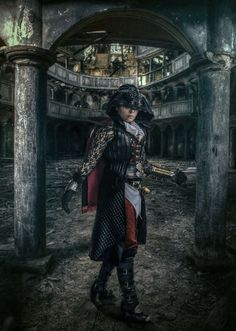 Cosplayer: Saaraz  Photographer: Antti Karppinen Character: Evie Frye from Assassins Creed Syndicate