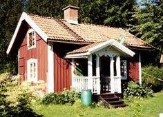 A typical Swedish summer house aka Stuga