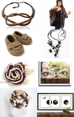 Brown by Anat kisch on Etsy--Pinned with TreasuryPin.com