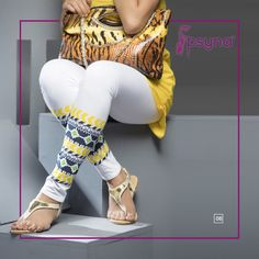 Shop Online for exclusive and enchanting collection of White Printed Legging, available in White made with Cotton Fabric. Cotton Leggings, Printed Leggings, Churidar, Salwar Kameez, White Jeans, Cotton Fabric, Pants, Stuff To Buy, Shopping