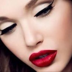 Timeless makeup look...