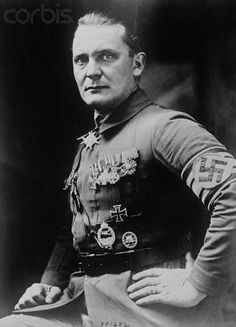 1923 - Captain Hermann Göring, Hitler's Aide de Camp and Military Advisor. As his decorations indicate, he attained fame as a WWI German airman. He was in 22 victorious aerial flights, mostly in the region of the Dardanelles.