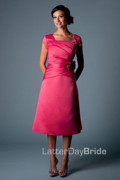 Modest Bridesmaid Dresses : Starley