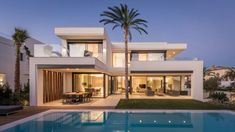 Architecture Discover Modern villa with roof and pool - Mimari Beautiful House Plans Beautiful Home Designs Modern House Plans New House Plans Home Design Floor Plans Dream Home Design Modern Architecture House Architecture Design New Model House