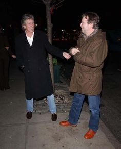 Roger Waters and Eric Clapton