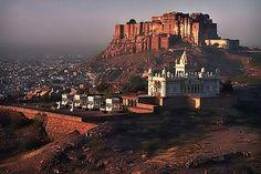 SUN-CITY!!! ---Meherangarh Fort. Jodhpur, India