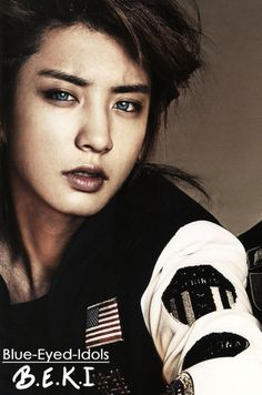 BLUE EYED K-POP IDOLS: #316  Park Chanyeol - EXO-K
