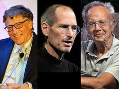 Powerful lessons from the careers of Bill Gates, Steve Jobs