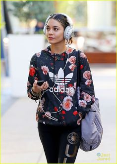 Vanessa Hudgens Plugs In With JBL Synchros Headphones | vanessa hudgens headphones aerials 02 - Photo